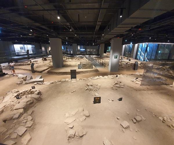 [포토] 서울 최대 도시유적 아카이브 '공평도시유적전시관'