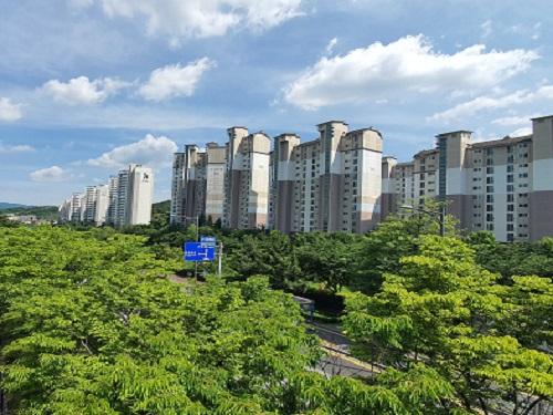 전세물량 늘어난 성남시, 아파트 전셋값 '하락'