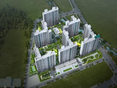 대우건설, '구미 푸르지오 센트럴파크' 견본주택 개관