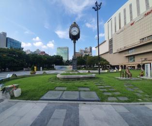 [포토] 도심속 문화공간 '왕십리광장'